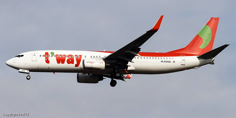 world airlines Tway Airlines