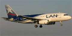 LAN Peru. Airline code, web site, phone, reviews and opinions.