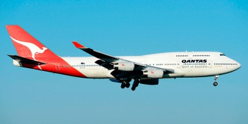 Boeing 747-400 - commercial aircraft. Pictures, specifications, reviews.