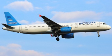 Metrojet. Airline code, web site, phone, reviews and opinions.