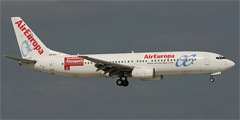 Air Europa. Airline code, web site, phone, reviews and opinions.