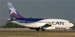 LAN Airlines. Airline code, web site, phone, reviews and opinions.