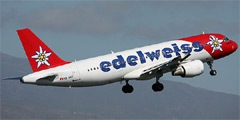 Edelweiss Air. Airline code, web site, phone, reviews and opinions.