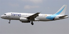 TAME Linea Aerea del Ecuador. Airline code, web site, phone, reviews and opinions.