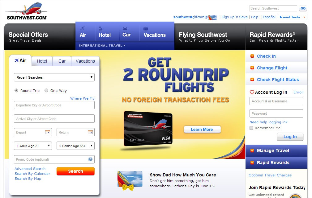 The best time to buy Southwest Airline Tickets is apparently on Tuesday. During the later parts of the week, ticket prices rise. They are at their peak during Friday, Saturday, and Sunday. On Monday, they start to fall, on Tuesday, Ticket prices are at their lowest and most affordable for Southwest Airlines.